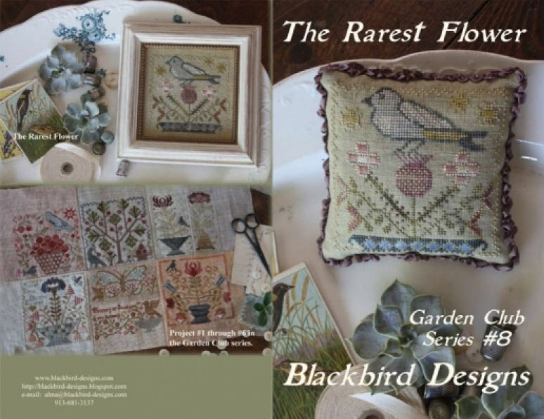 Garden Series By Blackbird Designs Stitch A Long