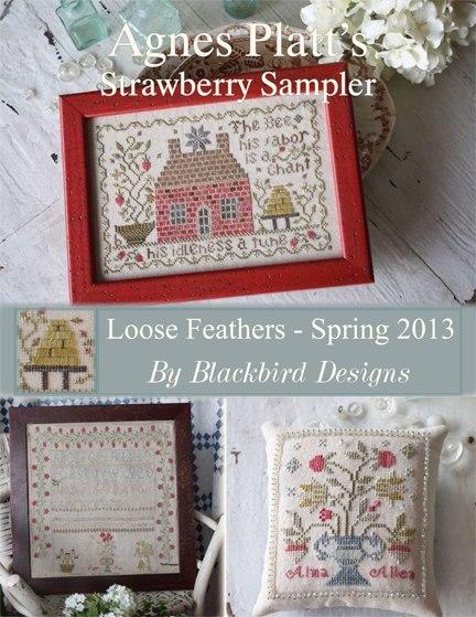 Blackbird designs chart inventory for Blackbird designs strawberry garden
