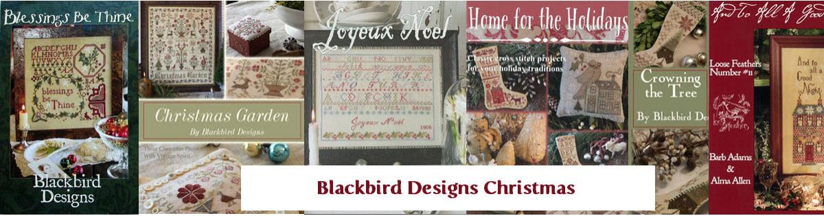 Blessings be thine by blackbird designs for Christmas garden blackbird designs