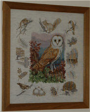 Owl & Woodland Wildlife from Anchor Premier Collection.