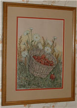 Rubies and Lace by Linda Myers' Art of Cross Stitch.